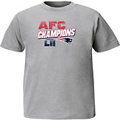 NFL Youth AFC Conference Champions New England Patriots Wonderstruck Grey T-Shirt
