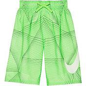 Nike Boy's Flywire Line Swoosh Breaker Swim Trunks