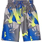 Nike Boys' Drift Graffiti Breaker Swim Trunks