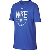 Nike Boys' Dry Baseball Logo Training T-Shirt