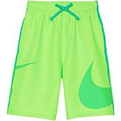 Nike Boy's Macro Logo Diverge Swim Trunks
