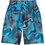 Nike Boys' Amp Axis Breaker Swim Trunks