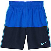 Nike Boys' Solid Split Swim Trunks