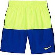 Nike Boys' Solid Split Swim Trunks