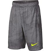 Nike Boys' Dry Printed Fly Training Shorts