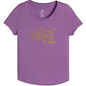 Nike Pro Girls' Heart of Gold T-Shirt