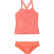 Nike Girl's Rush Heather Spider Back Tankini Set