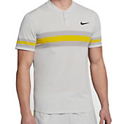 Nike Men's Court Advantage Stripe Tennis Polo
