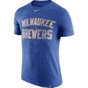 Nike Men's Milwaukee Brewers Dri-Blend DNA T-Shirt