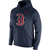 Nike Men's Boston Red Sox Dri-FIT Pullover Hoodie