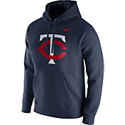 Nike Men's Minnesota Twins Dri-FIT Pullover Hoodie