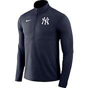 Nike Men's New York Yankees Dri-FIT Element Half-Zip Jacket