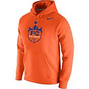 Nike Men's FC Cincinnati Crest Orange Pullover Hoodie