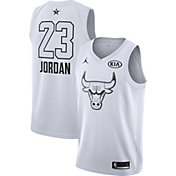 Jordan Men's 2018 NBA All-Star Game Michael Jordan White Dri-FIT Swingman Jersey