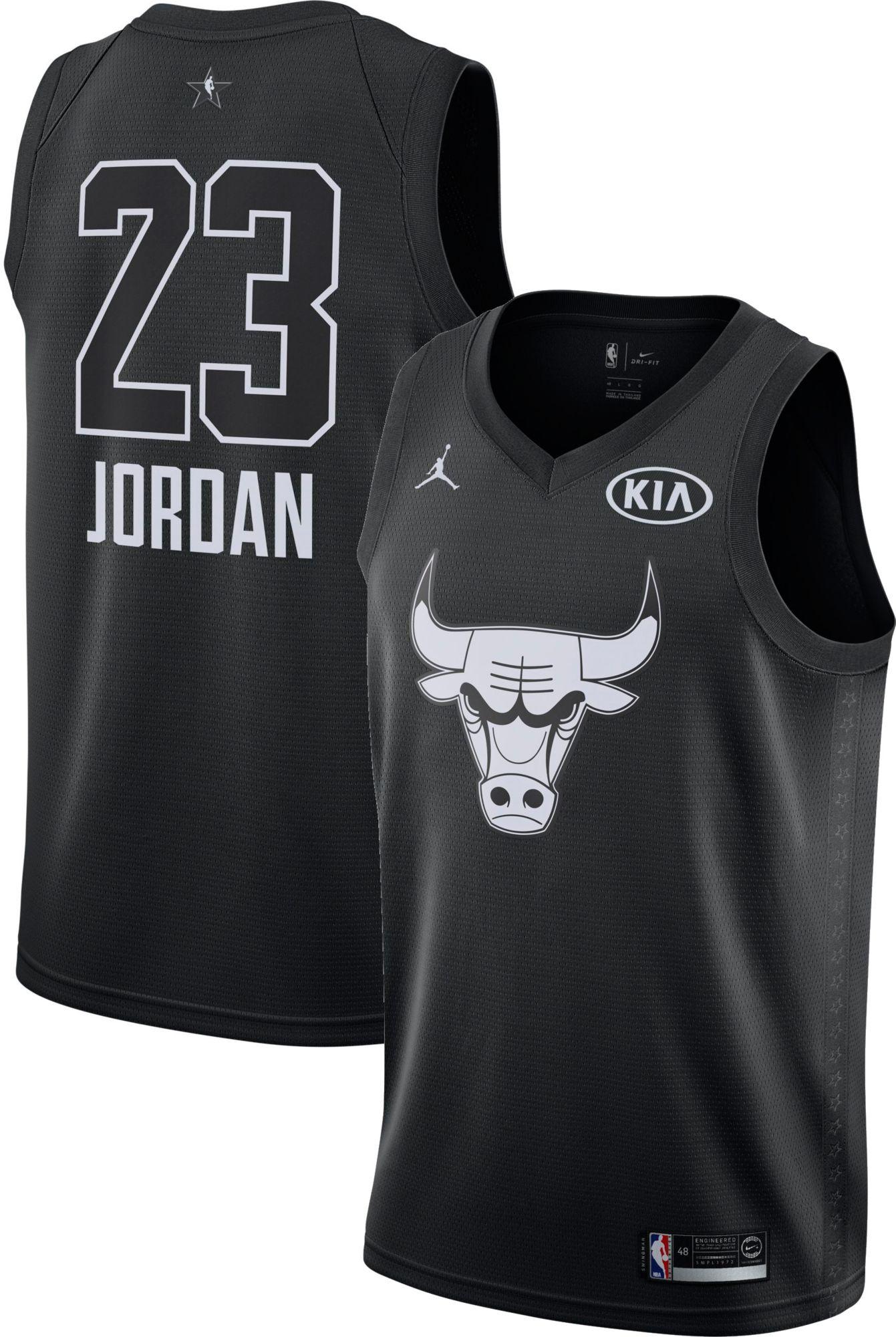 Jordan Men s 2018 NBA All Star Game Michael Jordan Black Dri FIT