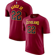Nike Men's Cleveland Cavaliers Larry Nance Jr. #22 Dri-FIT Burgundy T-Shirt