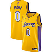 Nike Men's Los Angeles Lakers Kyle Kuzma #0 Gold Dri-FIT Swingman Jersey