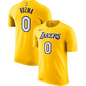 Nike Men's Los Angeles Lakers Kyle Kuzma #0 Dri-FIT Gold T-Shirt