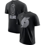 Jordan Men's 2018 NBA All-Star Game Damian Lillard Dri-FIT Black T-Shirt