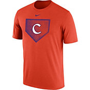 Nike Men's Clemson Tigers Orange Baseball Diamond T-Shirt