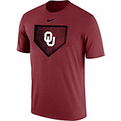 Nike Men's Oklahoma Sooners Crimson Baseball Diamond T-Shirt