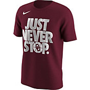 Nike Men's Oklahoma Sooners Crimson 'Just Never Stop' Selection T-Shirt