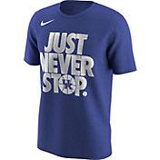 Nike Men's Kentucky Wildcats Blue 'Just Never Stop' Selection T-Shirt