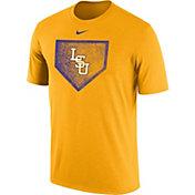 Nike Men's LSU Tigers Gold Baseball Diamond T-Shirt