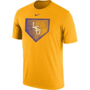 Nike Men's LSU Tigers Gold Baseball Diamond T-Shirt