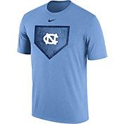 Nike Men's North Carolina Tar Heels Carolina Blue Baseball Diamond T-Shirt