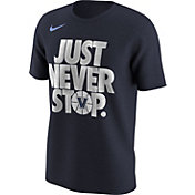 Nike Men's Villanova Wildcats Navy 'Just Never Stop' Selection T-Shirt