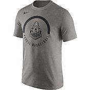 Nike Men's Purdue Boilermakers Grey Basketball Verbiage Dri-FIT T-Shirt