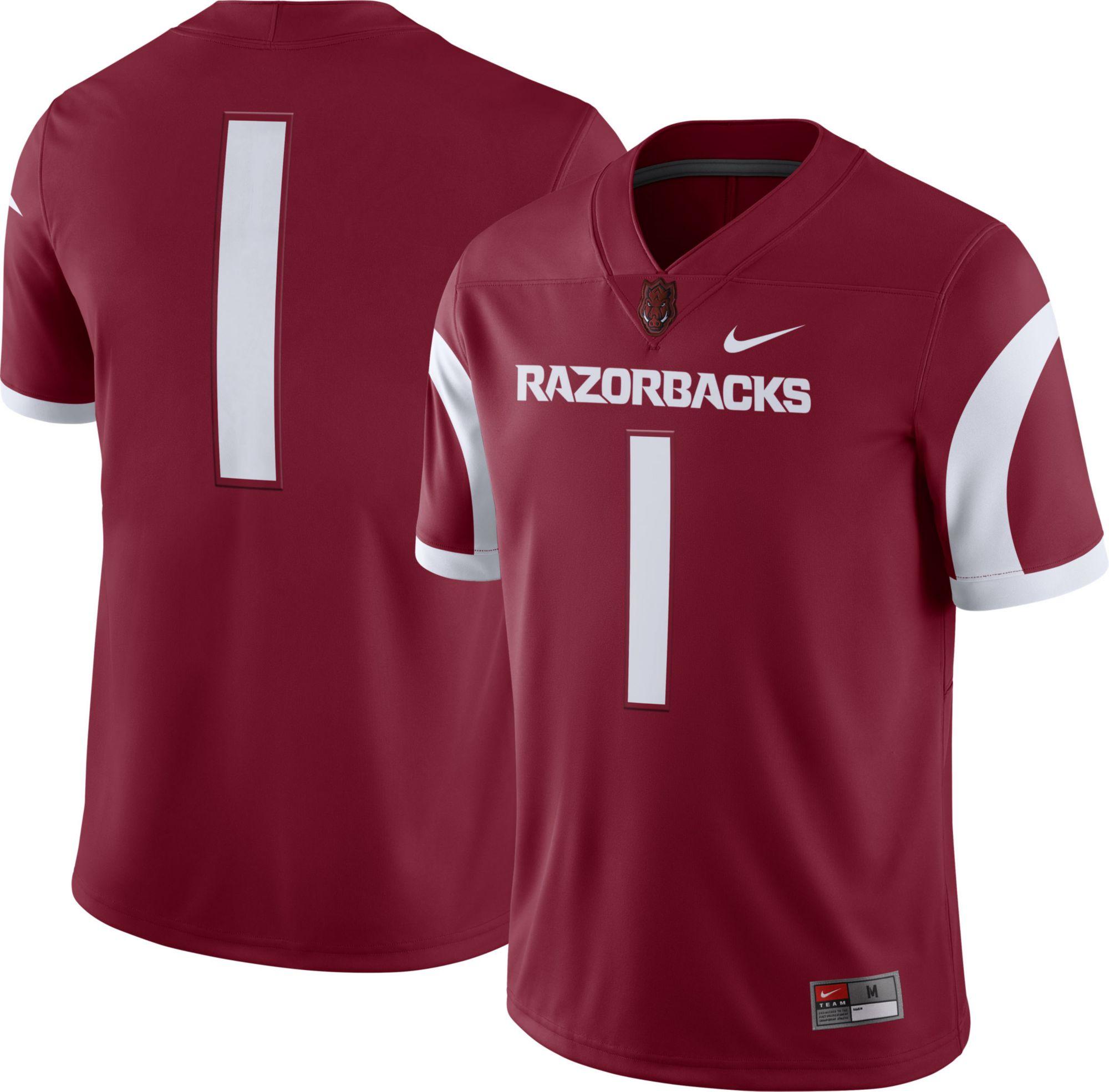 arkansas razorbacks jersey