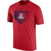 Nike Men's Arizona Wildcats Cardinal Baseball Diamond T-Shirt