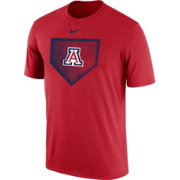 Nike Men's Arizona Wildcats Cardinal Baseball Diamond T-Shirt