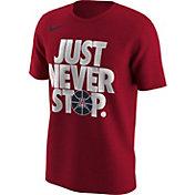 Nike Men's Arizona Wildcats Cardinal 'Just Never Stop' Selection T-Shirt