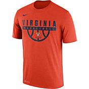 Nike Men's Virginia Cavaliers Orange Basketball Legend T-Shirt