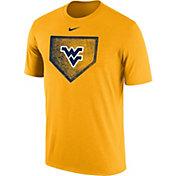 Nike Men's West Virginia Mountaineers Gold Baseball Diamond T-Shirt