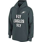 Nike Men's Philadelphia Eagles Fly Eagles Fly Circuit Green Pullover Hoodie