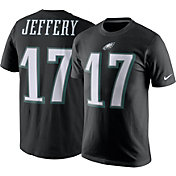 Nike Men's Philadelphia Eagles Alshon Jeffery #17 Pride Black T-Shirt