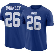 Saquon Barkley #26 Nike Men's New York Giants Pride Blue T-Shirt