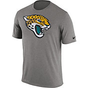 Nike Men's Jacksonville Jaguars Legend Logo Performance Grey T-Shirt