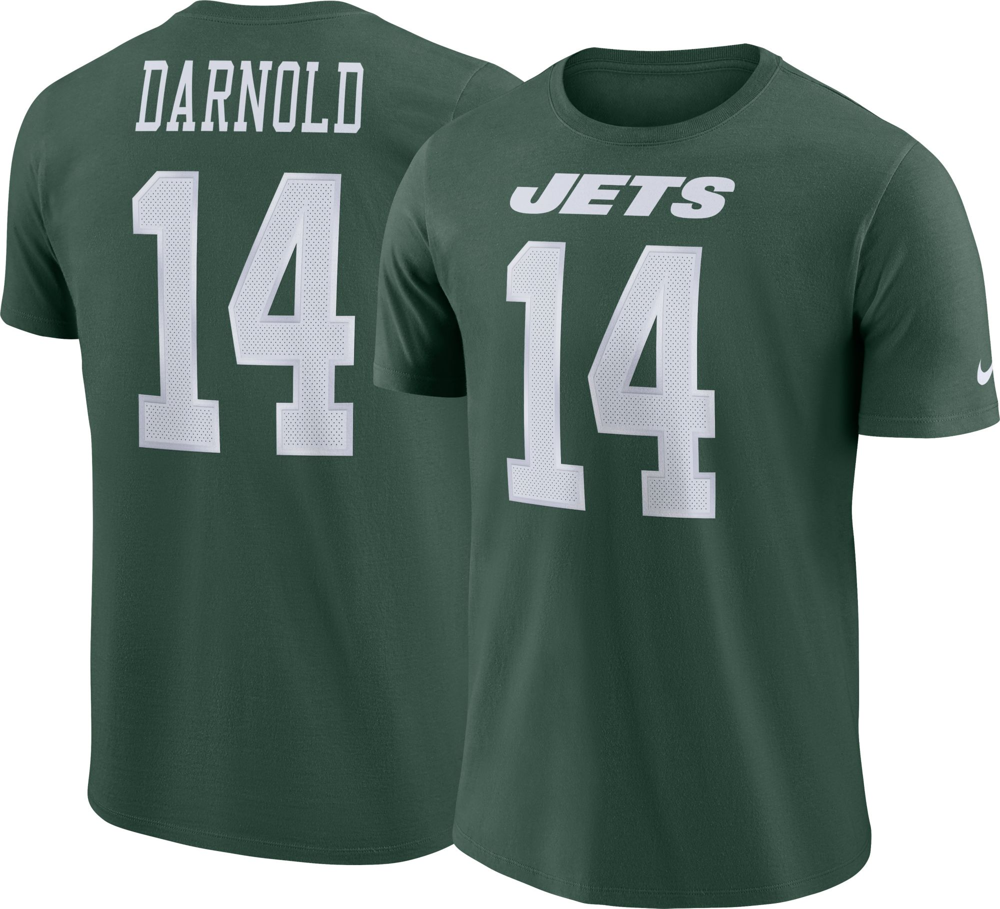 New York Jets Sam Darnold 14 Nike Mens New York Jets Pride Green T-Shirt . c4252a424