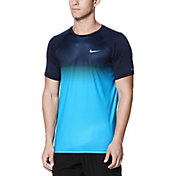 Nike Men's Fade Mist Short Sleeve Hydro Rash Guard