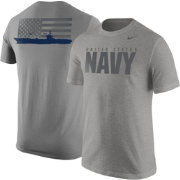 Nike United States Navy Aircraft Carrier Grey Short Sleeve T-Shirt