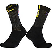 Nike Los Angeles Lakers City Edition Elite Quick NBA Crew Socks