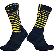 Nike Indiana Pacers City Edition Elite Quick NBA Crew Socks