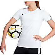 Nike Women's Academy Short Sleeve Drill Top