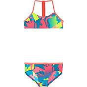 Nike Girls' Drift Graffiti T-Back Top Brief Set