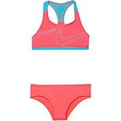 Nike Girl's Macro Swoosh Racerback Sport Top Brief Set